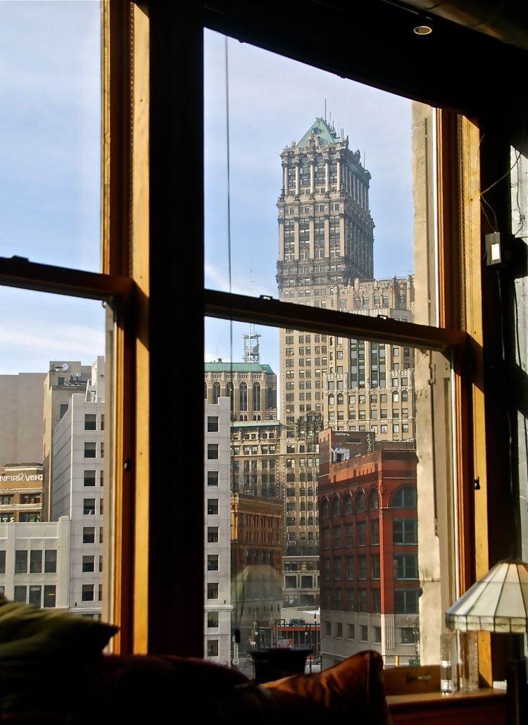 Our view of Detroit