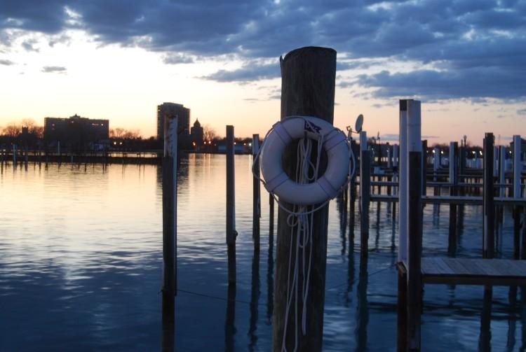 The historic Detroit Yacht Club